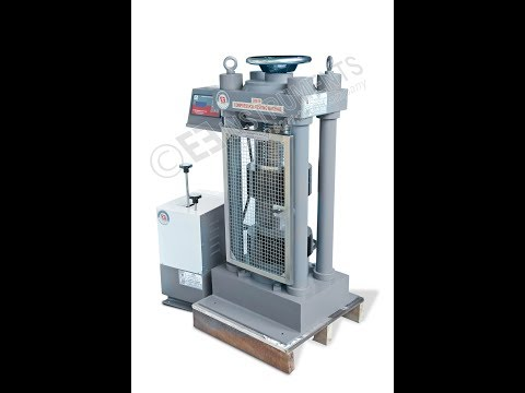 EIE Instruments | Installation Of COMPRESSION TESTING MACHINE | CTM |