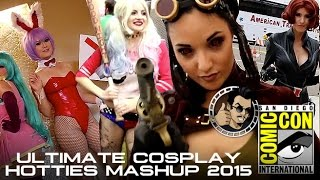Comic Con 2015: Ultimate Cosplay Hotties Mashup (HD) 2015