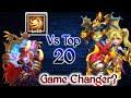 Bloody Mary Vs Top-20 | Game Changer..?😲😲😲 | Rip Dove/Zeph | No Pet/Warden | Castle Clash