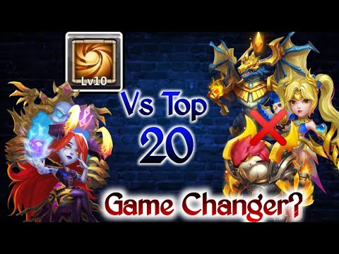 Bloody Mary Vs Top-20 | Game Changer..?😲😲😲 | Rip Dove/Zeph | No Pet/Warden | Castle Clash