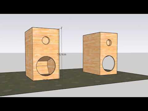 Box Speaker Woofer 8 inch    (Full Bass design)