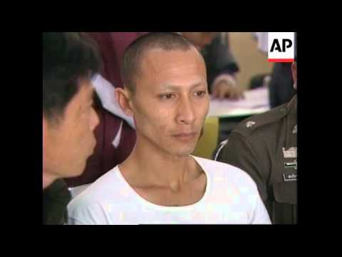 THAILAND: MONK MURDERER OF UK TOURIST TO FACE DEATH PENALTY