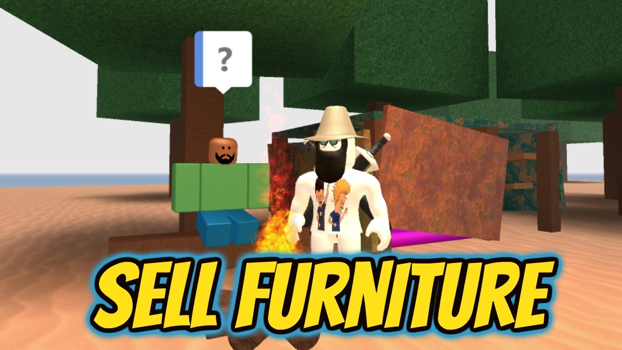 Roblox How To Sell Your Unwanted Furniture In Work At A Pizza Place Youtube