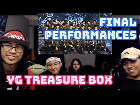 YG Treasure (트레저) Box Final Performances Reaction - VK And Friends React