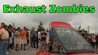 Chris LOSES HIS SH!T in the rain - Attacked by EXHAUST ZOMBIES!