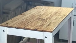 DIY-PALETTEN SEHPA YAPIMI (MESA DE CAFE-COFFEE TABLE FROM PALLETS)