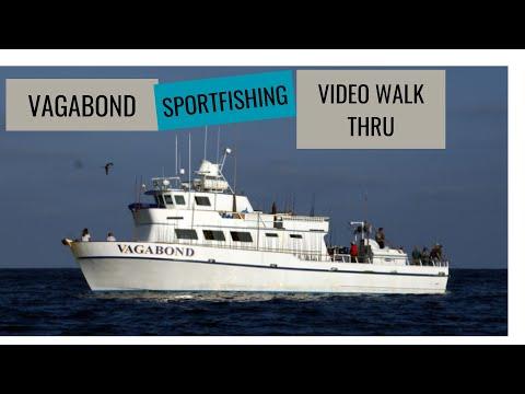 Vagabond Sport Fishing San Diego - Boat Walk Thru