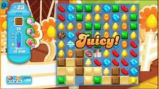 Candy Crush SODA saga level 888 ~ driving the road
