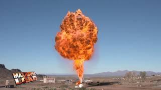 Controlled BLEVE: Boiling Liquid Expanding Vapor Explosion - Passfire Maximum Load Teaser