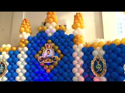Royal Castel Theme Birthday Party  in Chennai by  Moderneventmakers com  Ph +91 9884378857