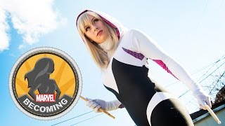 Cosplayer Kearstin becomes Spider-Gwen - Marvel Becoming