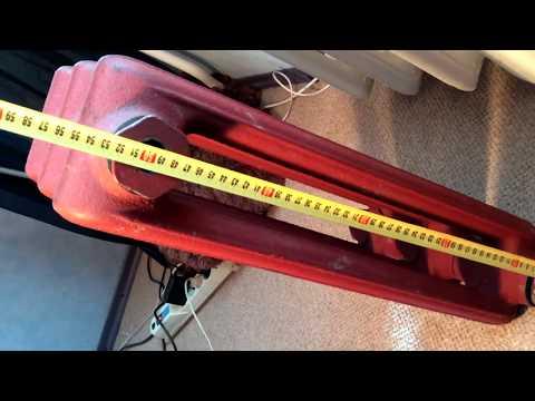 Опыт установки батарей: МС-140 радиатор чугунный обзор