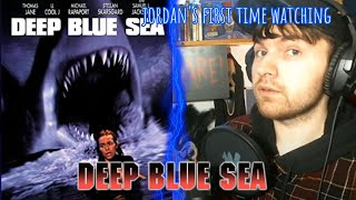 Deep Blue Sea (1999) Movie Reaction/*FIRST TIME WATCHING* \