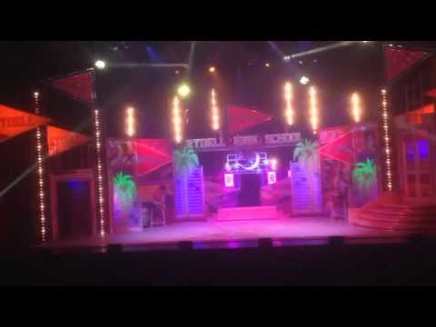 Stage design for Grease - Musikhuset Theatre Aarhus, Copenhagen - Sept 2015