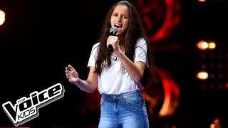 """Olga Jagieło – """"If I Were A Boy"""" – Przesłuchania w ciemno – The Voice Kids Poland"""