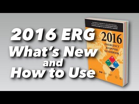 2016 ERG (Emergency Response Guidebook) Video