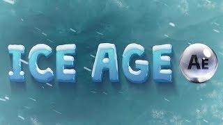 Как сделать красивый ледяной текст с анимированным эффектом в After Effects