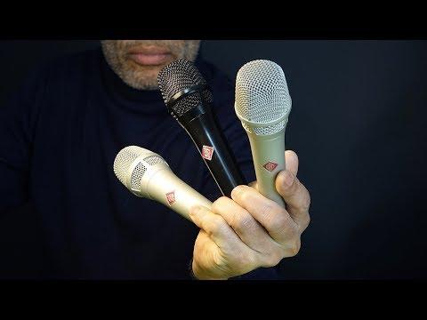 Neumann KMS 105 Review  vs Shure SM58 vs Earthworks SR40V + Singing Sample