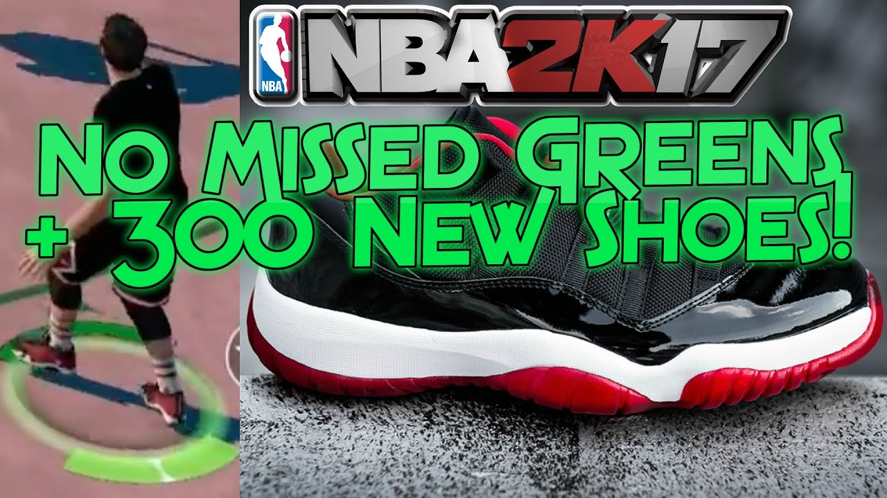 NBA 2K17 No Missed Greens, 300+ Shoes 3D Scanned + More LEAKED!! - NBA 2K16  | PeterMc | PeterMc - YouTube
