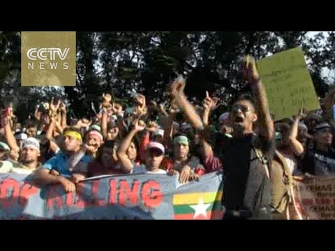 Malaysian PM Najib leads rally against 'genocide' of Muslim Rohingyas in Myanmar Mp3