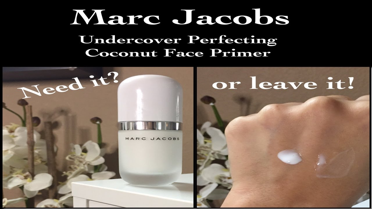New marc jacobs undercover perfecting coconut primer youtube new marc jacobs undercover perfecting coconut primer solutioingenieria Image collections