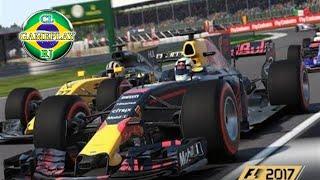 F1 2017 modo carreira piloto mclaren honda pista da Australia, China e Barein#1 temporada