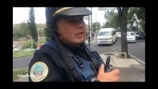 Captan a policía de la CDMX recibiendo 'mordida' en Periférico
