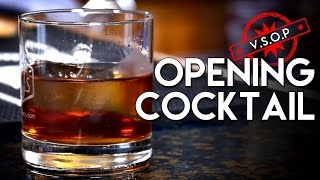 The Opening Cocktail / Solo Hosting Week