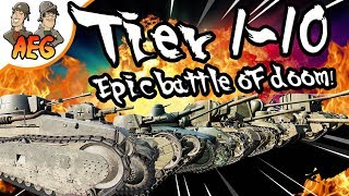 Tier 1-10 Epic Battle of DOOM!