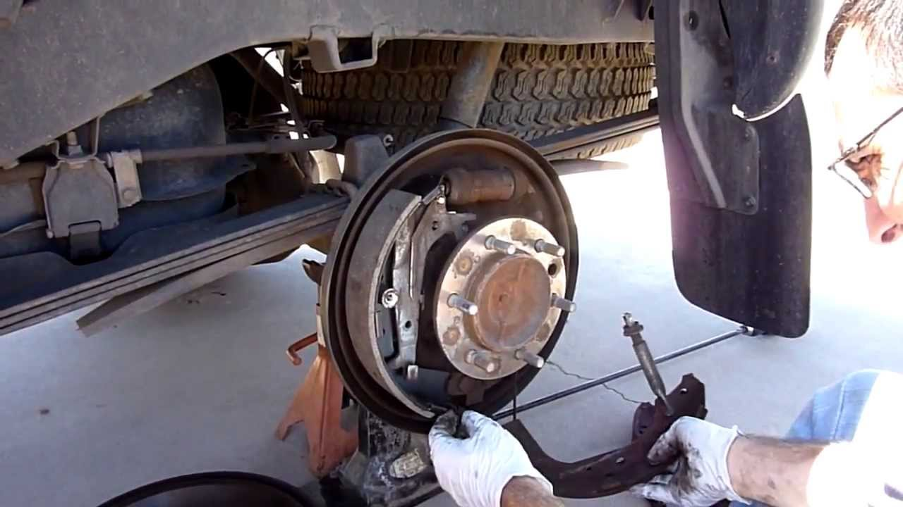 medium resolution of 1999 toyota tacoma prerunner rear drum brakes replaced