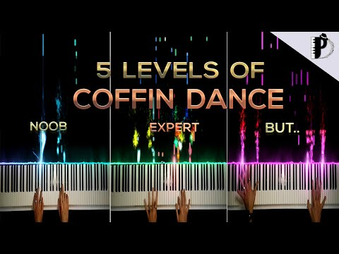 5 Levels Of Coffin Dance | NOOB To EXPERT BUT...