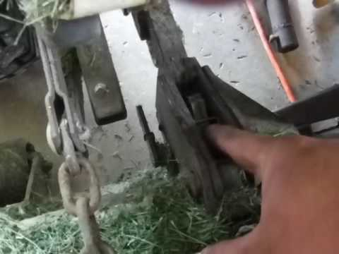 Grasshopper MANUAL deck tilt