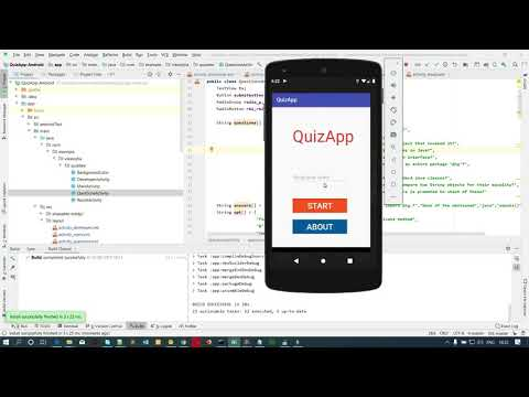 Android Studio Quiz App Source Code Free Download