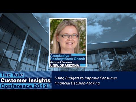 Anastasiya Ghosh, University of Arizona: Using Budgets to Improve Consumer Financial Decision-Making