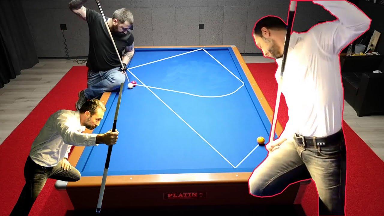 Semih Saygıner 3 Bant Bilardo Şov - Mr. Magic Billiards Trick Shots 3c Bida 3 Băng