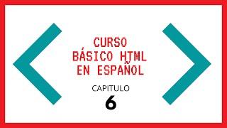 TUTORIAL HTML (Cap 7) ESPAÑOL