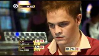 Quads over quads, Andrew Robl vs Toby Lewis, Partypoker, World Open