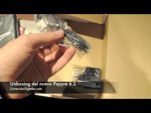 unboxing-del-ereader-papyre-6.2-(lector-ebooks)