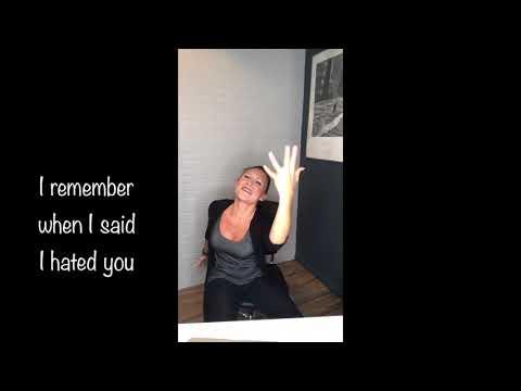 """Subtitles  """"I Remember"""" Keyshia Cole ~ASL by Megg Rose~"""