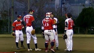 2014年草野球大会Victoria、Victoriaリーグ3部(準決勝)「セッターズB ...