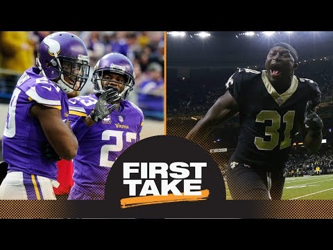 Stephen A. and Max debate what Vikings need to do to win against Saints | First Take | ESPN