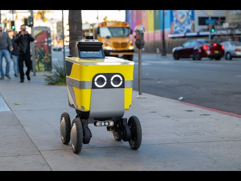Webinar: Sharing the Sidewalk with Robots: Personal Delivery Device Technology and Policy