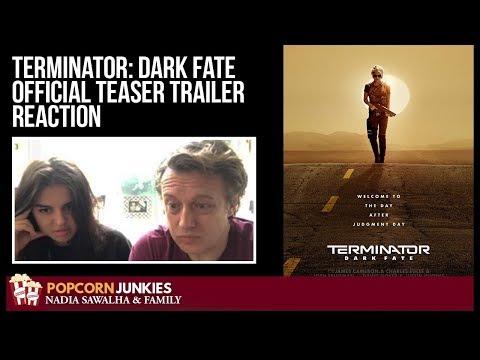 Terminator: Dark Fate (Official Teaser Trailer) (2019) - The Popcorn Junkies Family Reaction