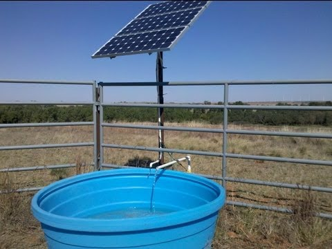 How to Install a Solar Powered Water Pump System by Advanced Power Inc.