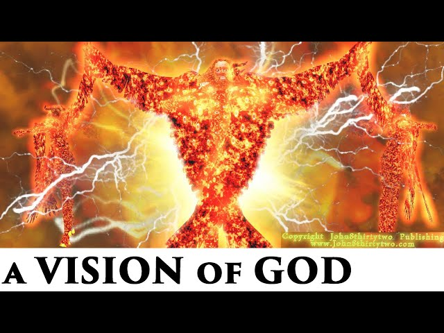 #5 Ezekiel 1 + 10, Prophet Ezekiel's Vision of God,Cherubim,4 living creatures,God's Throne,pictures