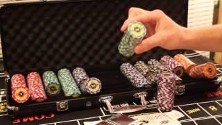 Набор для покера Crown 500 фишек - видеообзор от SpacePOKER