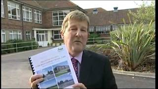 BBC Look East Eduction Schools shake up Stour Valley Community School Clare