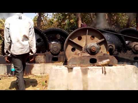 Jaggery (gur) production process | traditional Jaggery making process in india