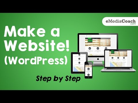 How to Make a Website Using WordPress - Easy Step by Step Tutorial for Beginners