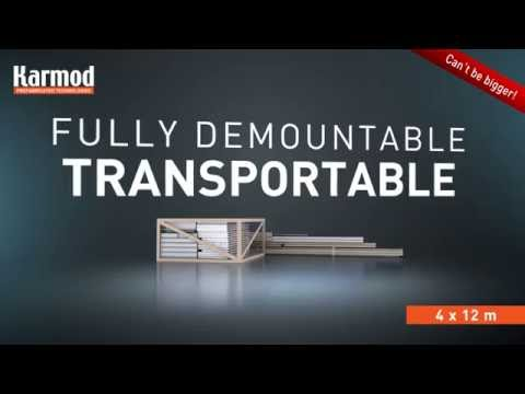 Flat Pack Container | Demountable Container | Karmod